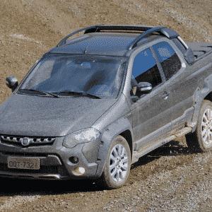 Fiat Strada Adventure Locker 1.8 Dualogic 3 Portas - Murilo Góes/UOL