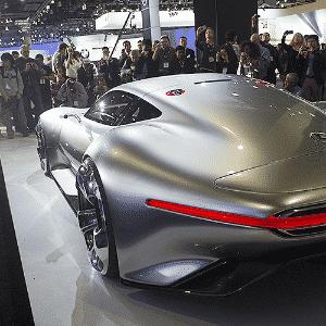 Mercedes-Benz AMG Vision Gran Turismo - Xinhua/Yang Lei