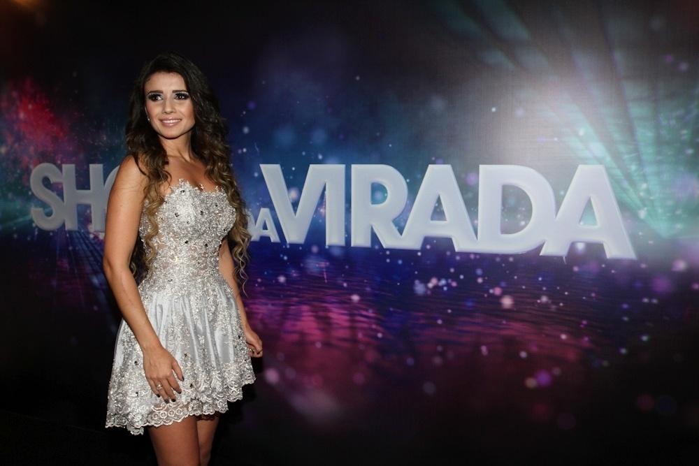26.nov.2013 - A cantora Paula Fernandes estará no tradicional