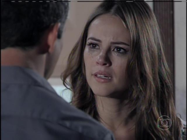 Paloma não acredita em Bruno e diz que quer o divórcio