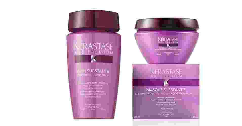Shampoo e Máscara Age Premium, Kérastase - Divulgação