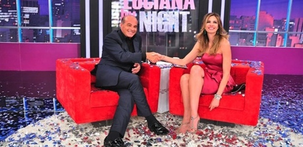 26.nov.2013 - Marcelo de Carvalho é entrevistado por Luciana Gimenez no 'Luciana by Night