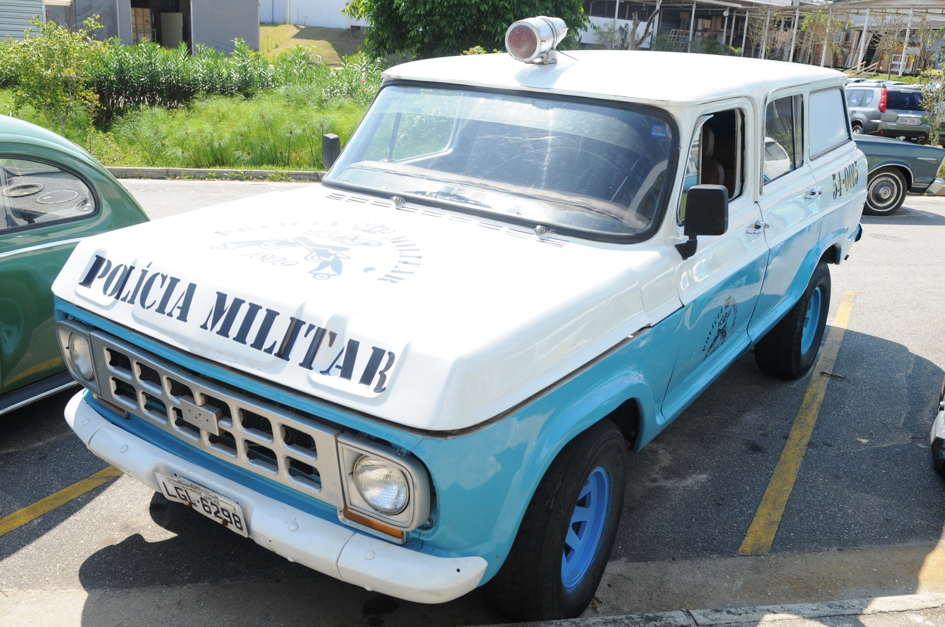 Chevrolet Veraneio Policial