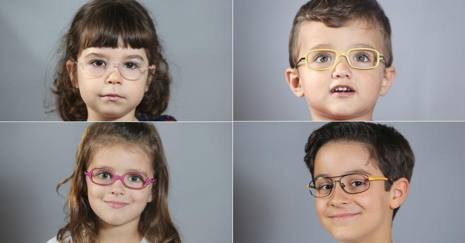 e002c045a Fotos: Saiba como escolher o modelo certo de óculos para a criança ...