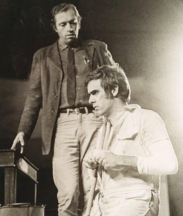 """1969 - Francisco Cuoco estrelou a peça """"O Assalto"""""""