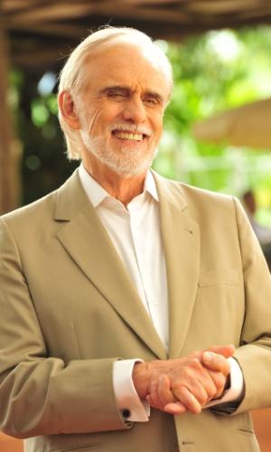 """2012 - Francisco Cuoco interpretou Mariano na novela """"A Vida da Gente"""""""