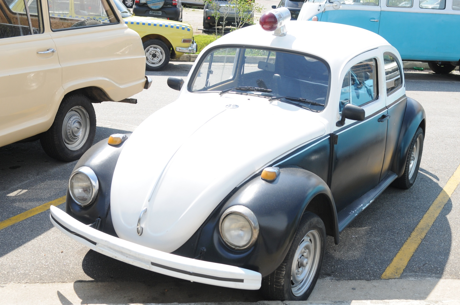 Volkswagen Fusca Policial