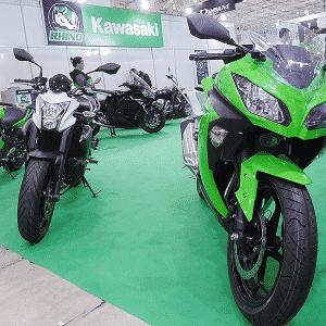 Kawazaki Brazil Motorcycle Show - Carlos Bazela/Infomoto