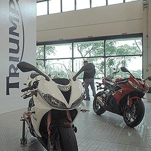 Triumph Brazil Motorcycle Show - Carlos Bazela/Infomoto