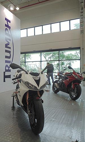 Triumph Brazil Motorcycle Show