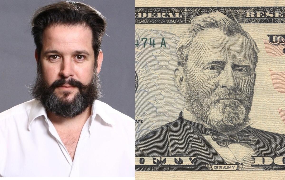 28.nov.2013- Murilo Benício diz que se inspirou em imagem de nota de 50 doláres para barba do personagem.