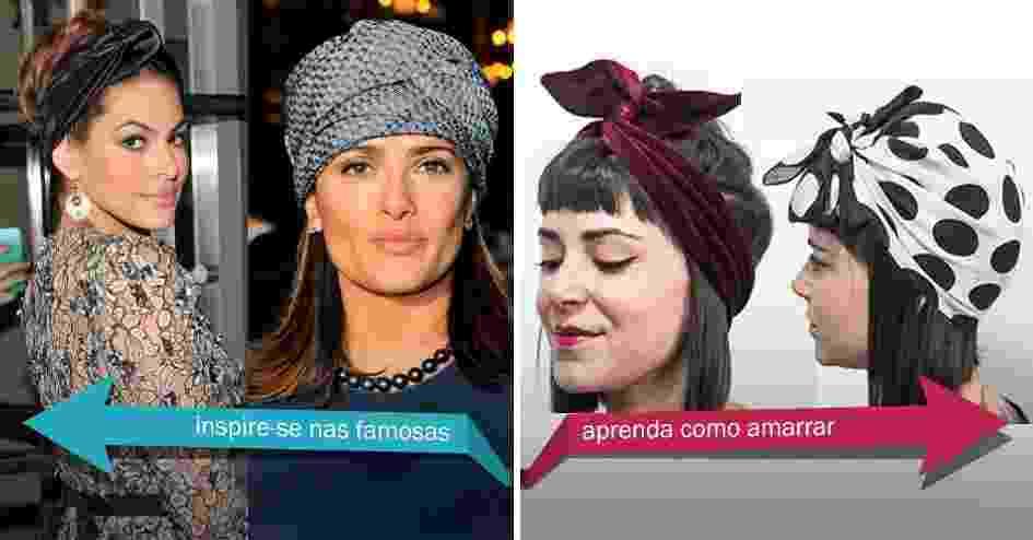 Fotos  Lenços e turbantes levantam o visual  veja sugestões de como ... 4b932d641b3