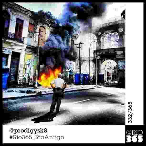 """Foto do livro colaborativo """"@Rio365 - Um Documentário Fotográfico"""" com fotos de Instagram - Instagram/@prodigysk8"""