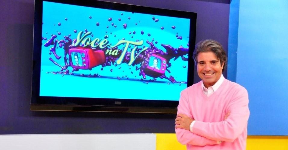 """""""Você na TV"""", vai ao ar dia 24 de dezembro, às 9h30: João Kléber traz amigos pessoais ao palco da atração para um bate-papo com muita música e diversão para celebrar o primeiro Natal do programa"""
