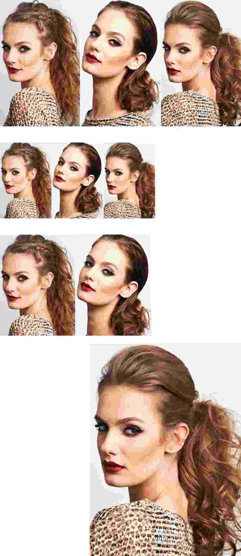 cabelos presos ganham detalhes simples e incrementam o visual - Christian Parente/UOL