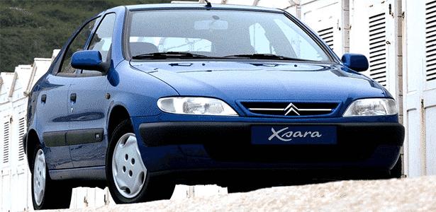 Citroën Xsara foi vendido no Brasil durante o final dos anos 1990 e começo de 2000 - Divulgação
