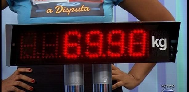 """""""Fantástico"""" mostra o peso de Gaby Amarantos depois do """"Medida Certa"""", em 2013"""