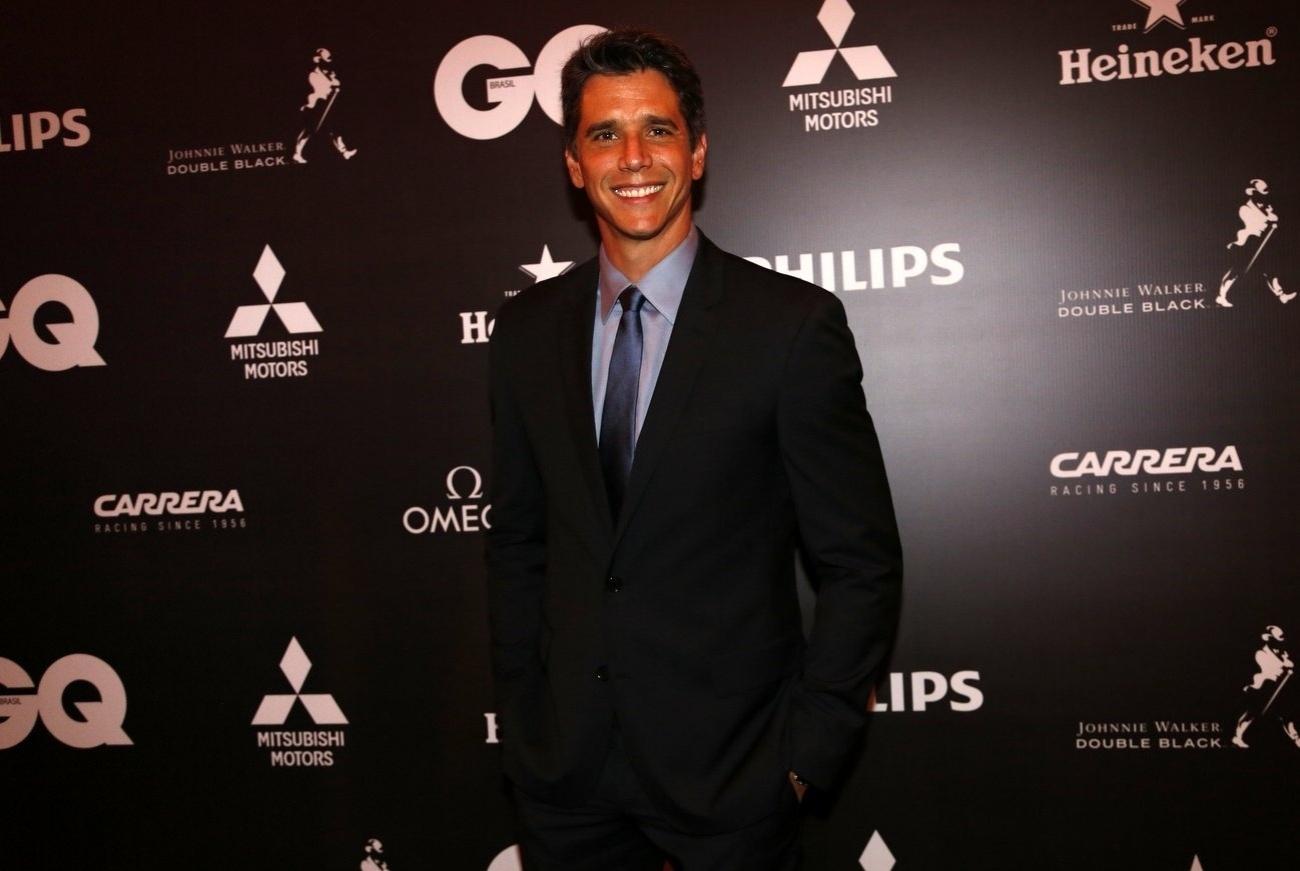 2.dez.2013- Márcio Garcia na premiação da revista