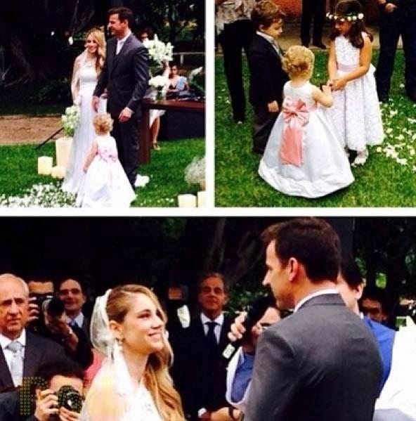 30.nov.2013 - Juliana Baroni se casou com o empresário Eduardo Moreira. A cerimônia foi realizada na Hípica Paulista, em São Paulo