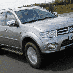 Mitsubishi Pajero Dakar HPE 2014 - Murilo Góes/UOL