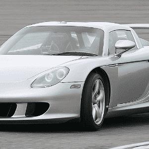 Porsche Carrera GT - Divulgação