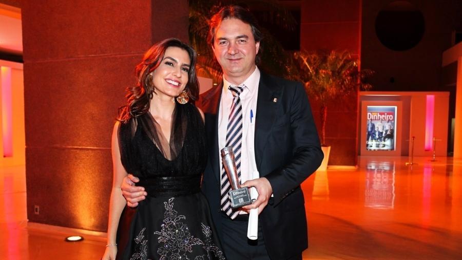 Ticiana Villas Boas e o marido, o empresário Joesley Batista em evento no final de 2013 - Manuela Scarpa/Photo Rio News