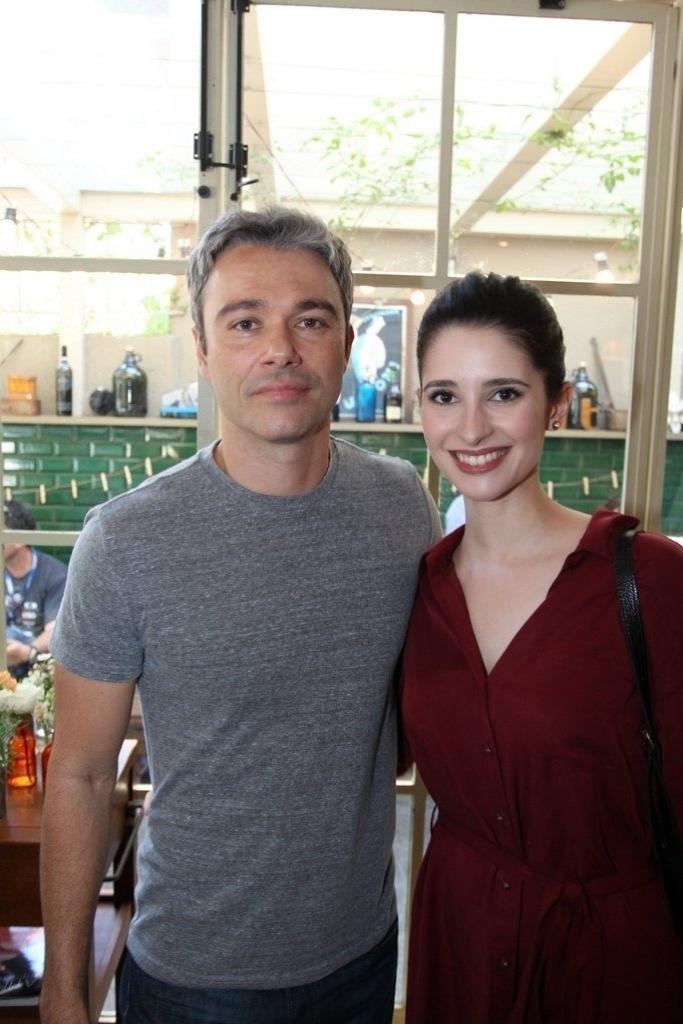 Ângelo Paes Leme e Anna Sofia Folch
