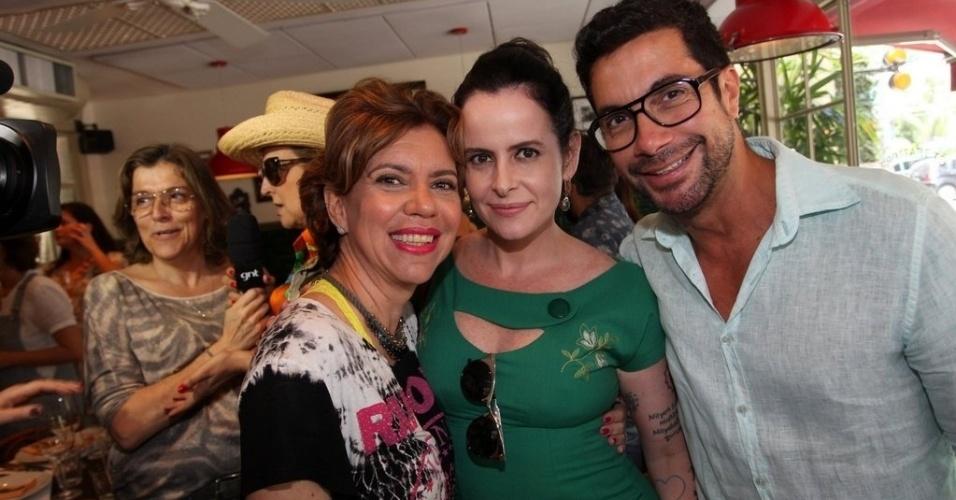 Astrid, Fernanda Young e Fernando Torquatto