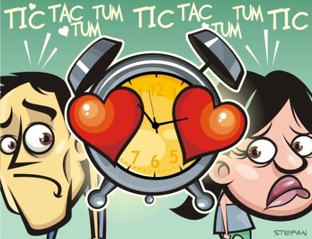 """Você acredita em """"tempo"""" no relacionamento? Use o campo de comentários desta página para opinar - Stefan/UOL"""