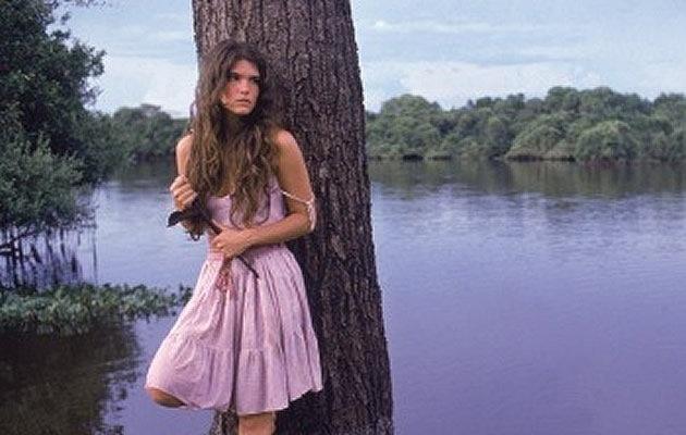 """Juma Marruá (Cristiana Oliveira), de """"Pantanal"""" (1990)"""