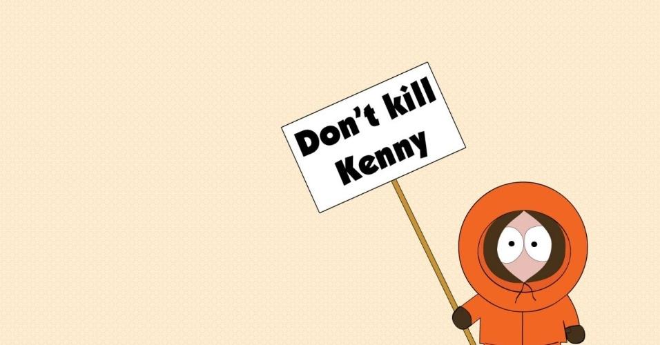 """Kenny, de """"South Park"""", morria todo episódio, até que um dia resolveram matá-lo de vez, em 5 de dezembro de 2001; ele voltou na sexta temporada e continuou morrendo"""