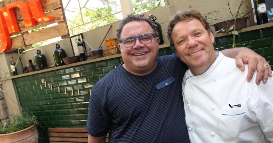 Leo Jaime e Claude Troisgros