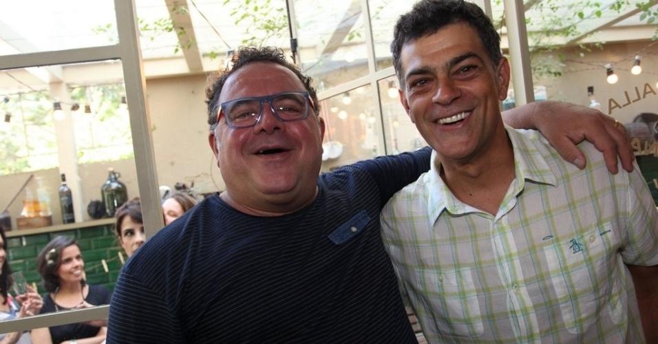 Leo Jaime e Eduardo Moscovis
