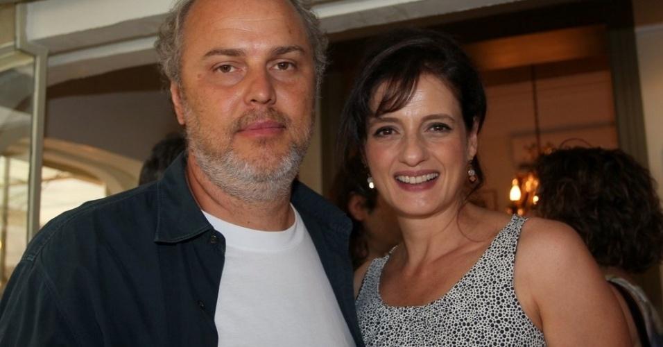 Luiz Villaça e Denise Fraga