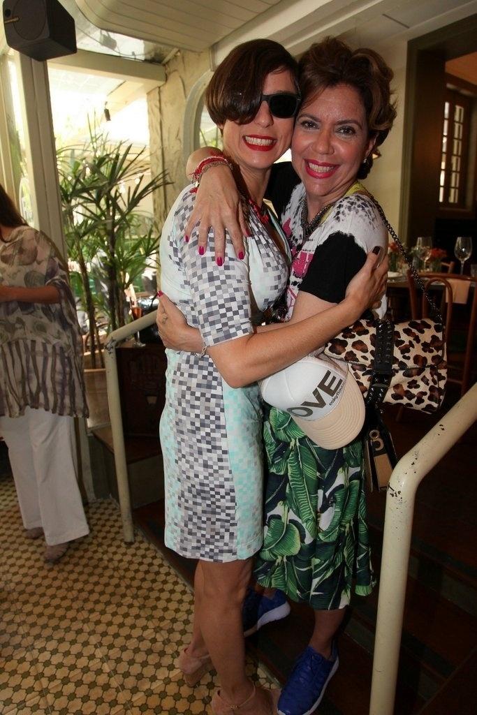 Maria Paula e Astrid Fontenelle