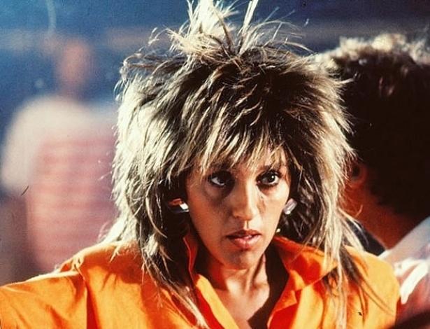 """Tina Pepper (Regina Casé), de """"Cambalacho"""" (1986)"""