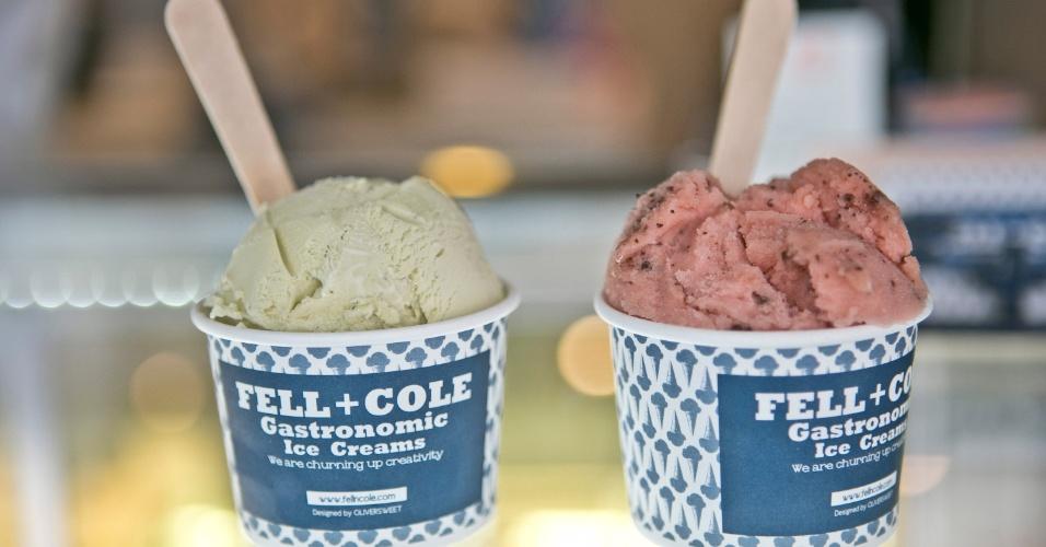 A Fell + Cole é uma sorveteria artesanal que cria sabores exóticos em Hapjeong, em Seul