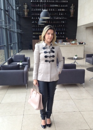 A recifense Luciana Mapurunga acompanha as tendências de moda e comemora a chegada das grifes internacionais à capital pernambucana - Aqruivo pessoal