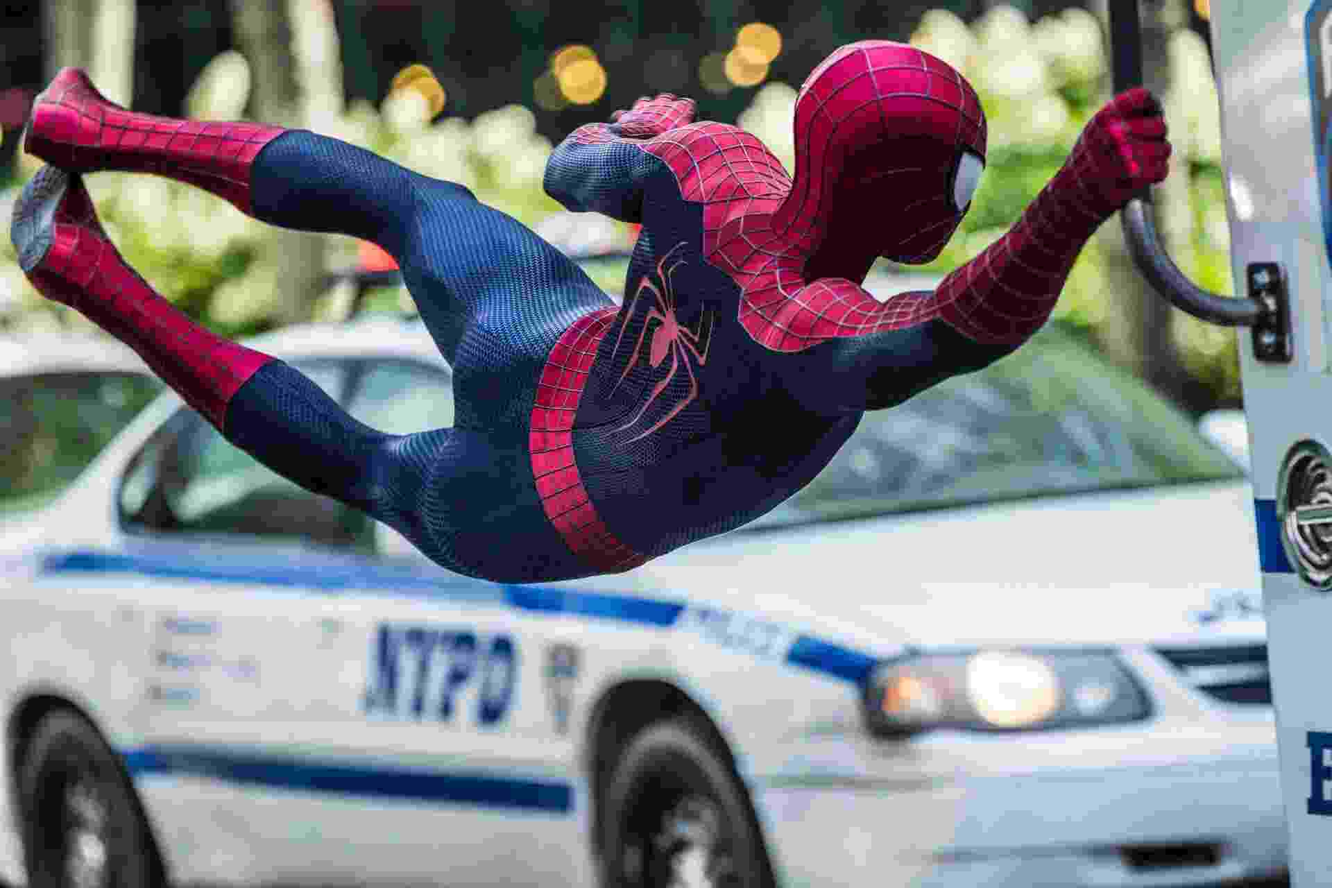 """Cena de """"O Espetacular Homem-Aranha 2"""", de Marc Webb - Sony Pictures/Divulgação"""