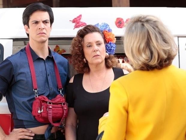 """Em """"Amor à Vida"""", Márcia e Edith saem no tapa por causa de Félix"""