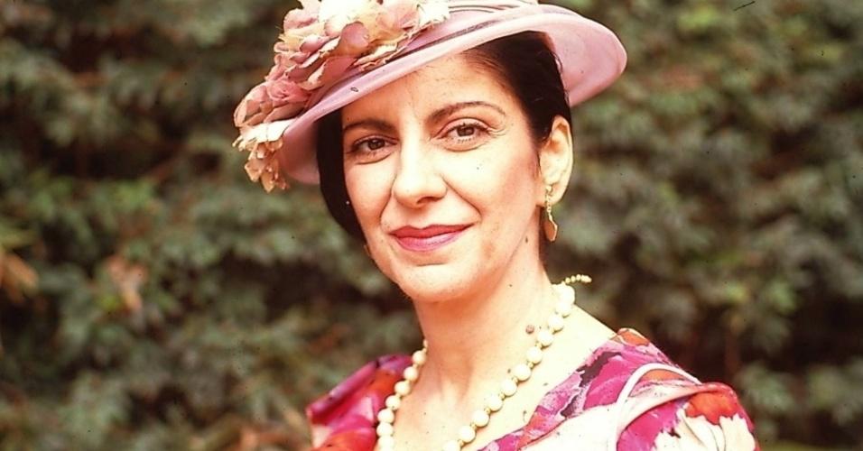 "Genuína Miranda (Marília Pêra), de ""Lua Cheia de Amor"" (1990)"