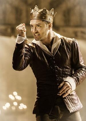 Jude Law interpreta o rei Henrique V em adaptação de peça de Shakespeare - Divulgação/Michael Grandage Company