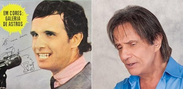 Roberto Carlos estampa capa da