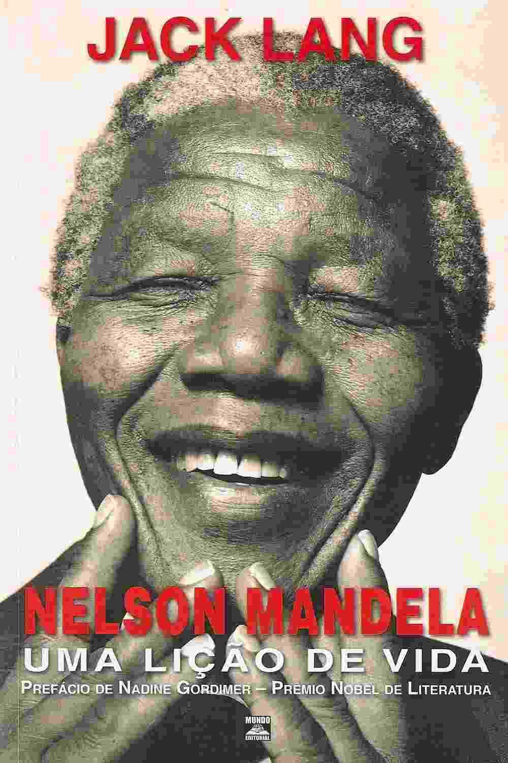 Capa de Mandela - uma Lição de Vida, de Jack Lang (2005) - Reprodução