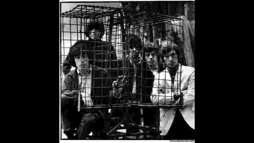 Exposição revela arquivo privado de fotos nunca vistas dos Rolling Stones - Gered Mankowitz/Divulgação BBC