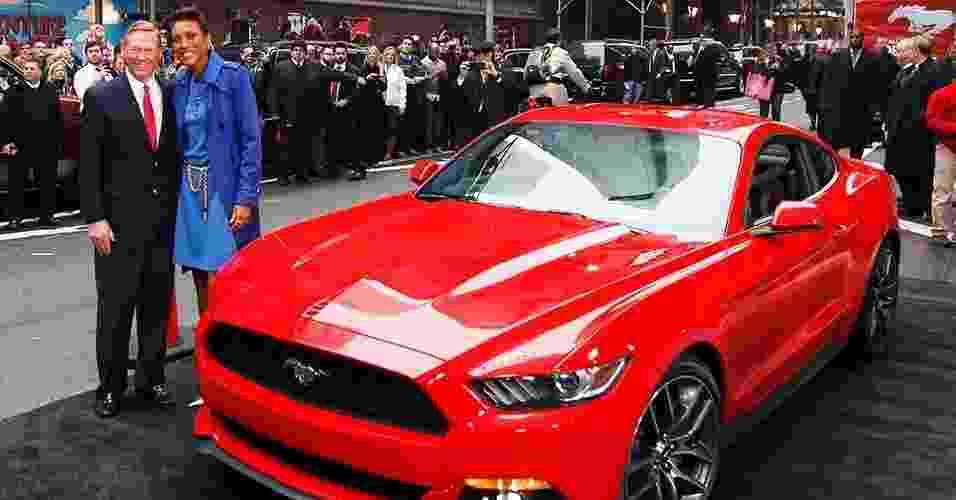 Ford Mustang GT 2015 - Brendan Mcdermid/Reuters