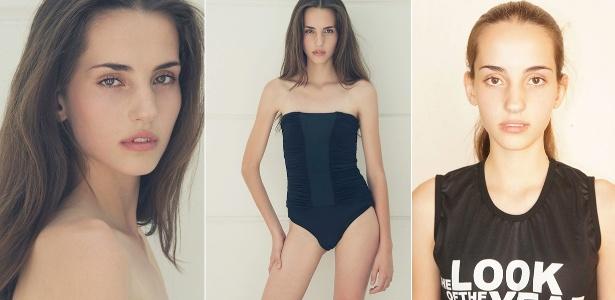 A paranaense Hana Scarlett, de 15 anos, foi a vencedora do concurso The Look of the Year 2013 - Marcos Duarte/Divulgação