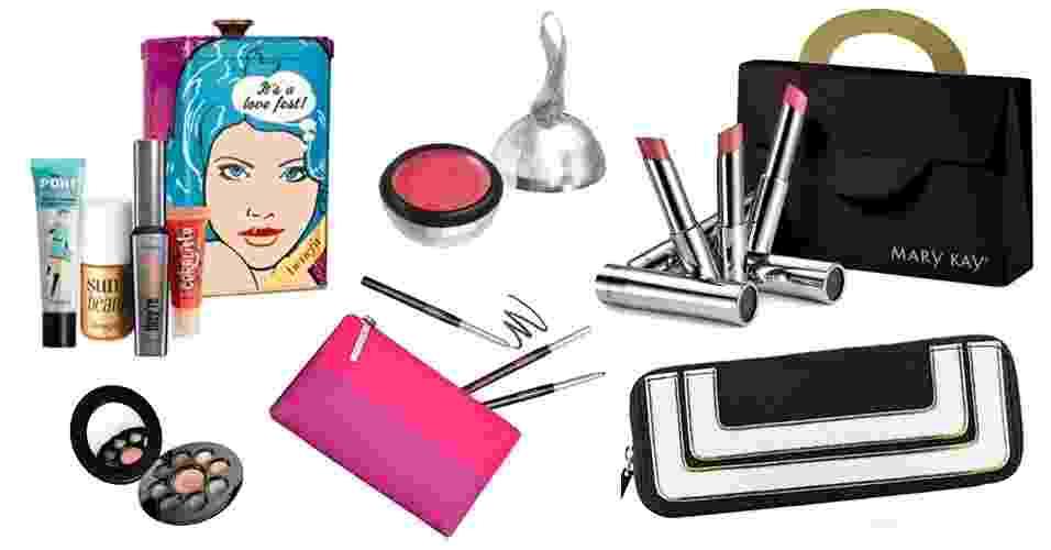 Abre sugestões de maquiagens para presentear no final do ano - Divulgação/Montagem/UOL