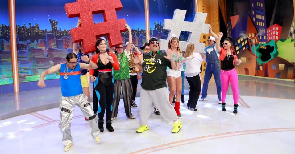 Ratinho gravou o especial de fim de ano do SBT como um DJ