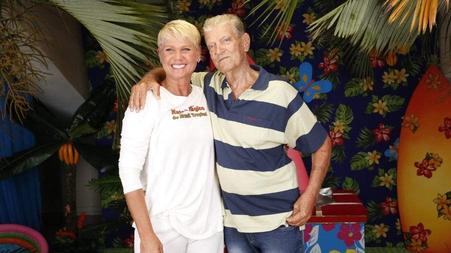 Luiz Floriano e Xuxa em 2013 - AgNews